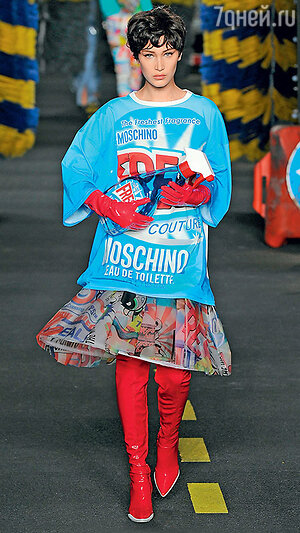 В свитшоте от Moschino не останешься незамеченным