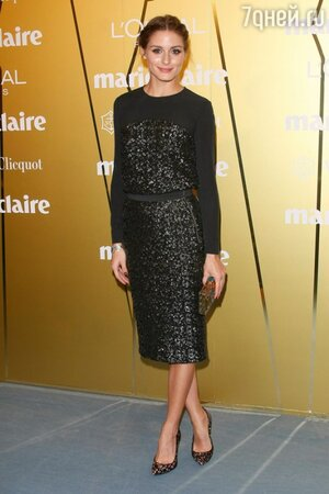 Оливия Палермо в платье от Whistles и туфлях от Stuart Weitzman на премии Fashion Prix Awards 2013