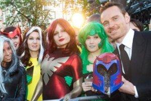 На премьере «Люди Икс: Дни минувшего будущего» Фассбендера встретили мутанты