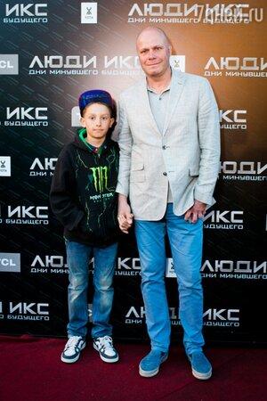 Алексей Кортнев с сыном