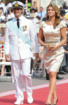Принц Швеции Карл-Филип и Принцесса Мадлен