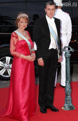 Наследная принцесса Румынии Маргарита и её муж принц Раду