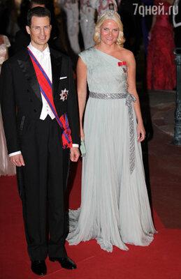Принц Норвегии Хокон и принцесса Метте-Марит