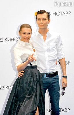 Обладательница специального диплома «За сочетание красоты и таланта» Оксана Фандера с мужем Филиппом Янковским