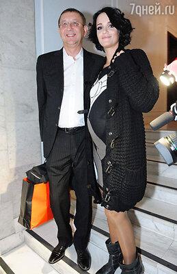 Певица Слава с мужем