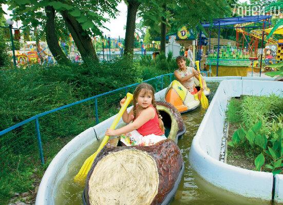 В сочинском парке развлечений 6-летняя дочка Анастасии Мельниковой Мария пришла в восторг от аттракционов