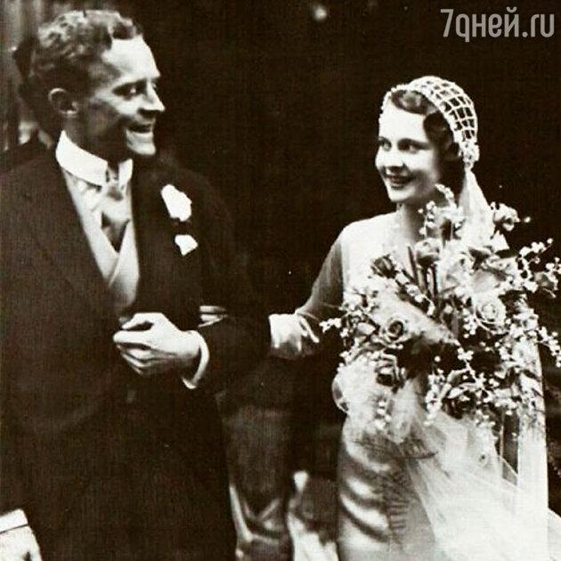 Свадьба Вивьен Ли и Герберта Ли Холмана. 1932 г.