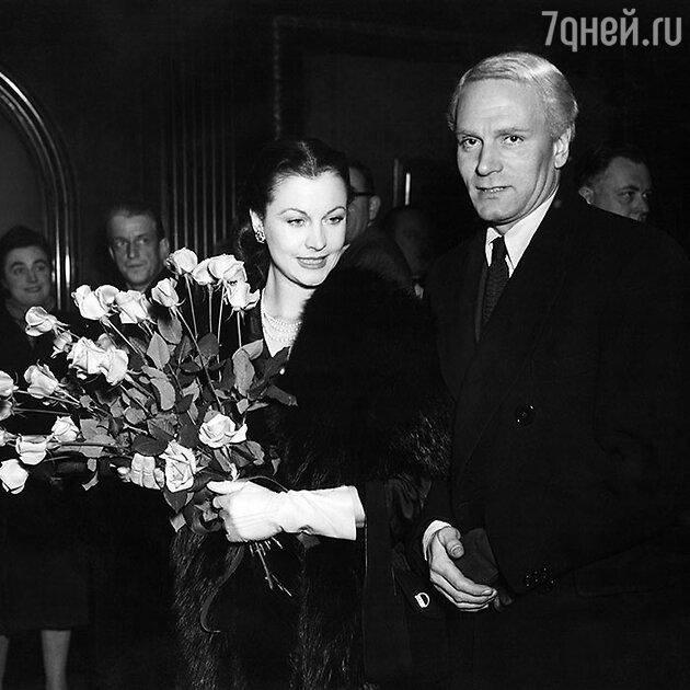 Вивьен Ли и Лоуренс Оливье. Конец 1940-х гг.