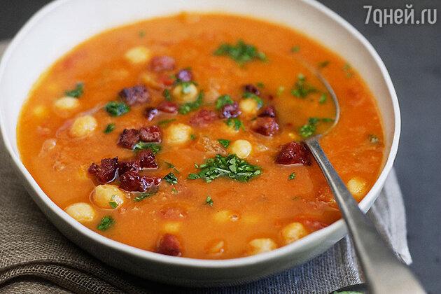 Суп из красной фасоли по-тоскански