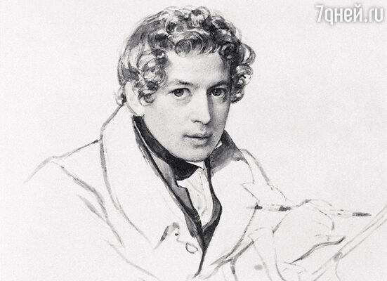 К. Брюллов. «Автопортрет». 1833 г.