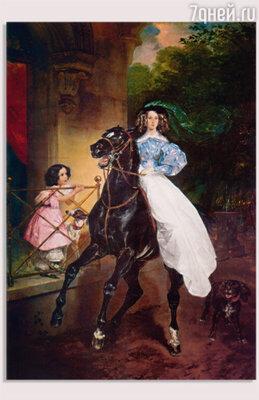 К. Брюллов. «Всадница». 1832 г.