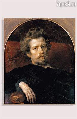 К. Брюллов. «Автопортрет». 1848 г.
