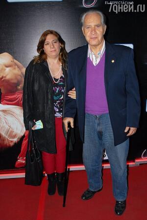 Рохелио Герра (Луис Альберто) с женой