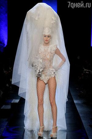 Показ Jean-Paul Gaultier на Неделе высокой моды в Париже