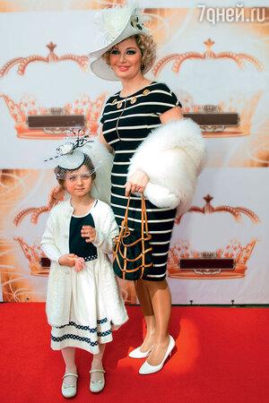 Мария Максакова с дочерью