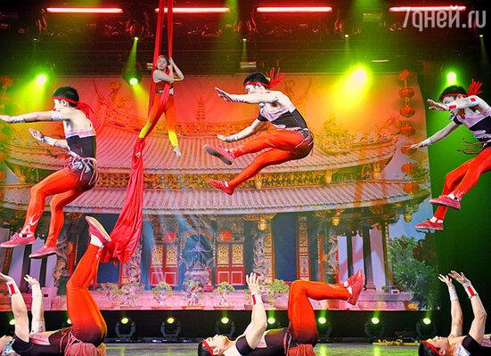 Акробатическое шоу «Чудеса желтой реки»