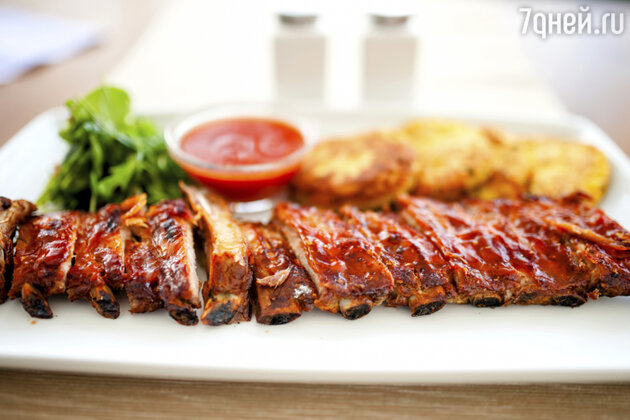 Ребрышки барбекю: рецепт от шеф-повара Мишеля Ломбарди