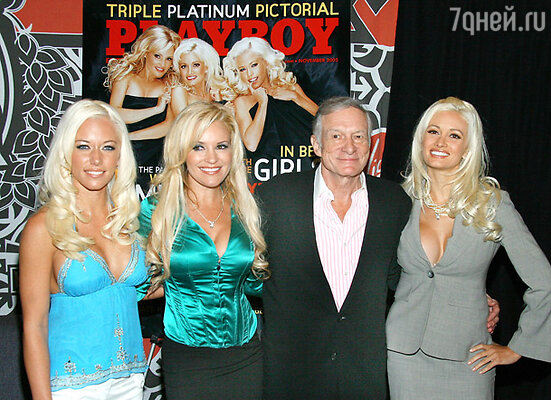 На вилле произошла смена состава: из семи девушек с Хефом остались только три - Кендра, Бриджет и Холли. Это была сложившаяся дружная семья.
