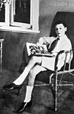 Страсть к энтомологии Владимиру передалась от отца. Это хобби было данью англомании, царившей в их доме. 1908 г.