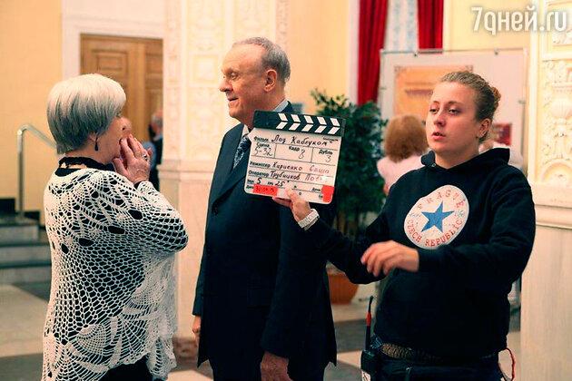 Владимир Меньшов и Ольга Волкова снимаются в новой мелодраме «Под каблуком»