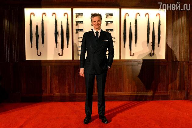 Колин Ферт - исполнитель одной из главных ролей «Kingsman: Секретная служба»