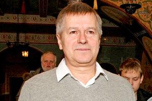 Игорь Ливанов окрестил новорожденного сына