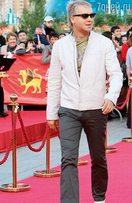 Сергей Светлаков на международном фестивале экшен-фильмов «Astana». 2011 год