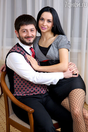Михаил Галсутян с супругой Викторией