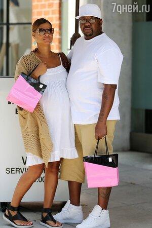 Бобби Браун с женой