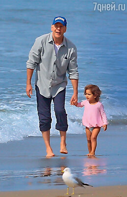 Отцом своей пятой дочери Брюс Уиллис стал за год дошестидесятилетия.
