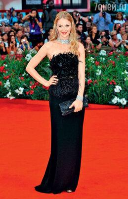 На Венецианском кинофестивале. 2011 г.