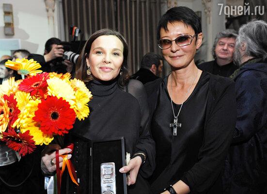 Татьяна Друбич и Ирина Хакамада