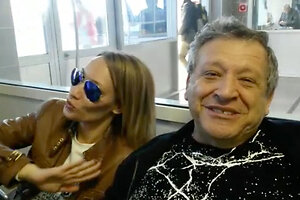 ВИДЕО: Борис Грачевский и его жена соскучились по Москве