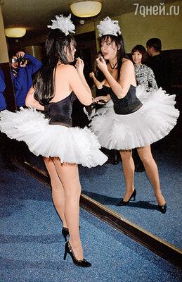 Балериной Милявская не стала, но иногда выходит на сцену в пачке