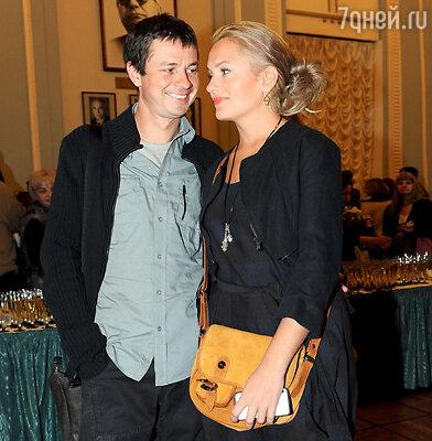 С мужем Ильей Древновым