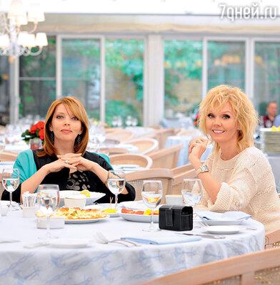 Екатерина Рождественская и Валерия