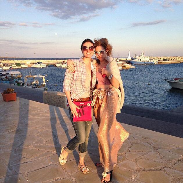 Анастасия Макеева отдыхает на Кипре