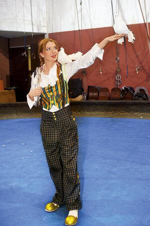 Наталья Подольская на проекте «Цирк со звездами», 2008 г.
