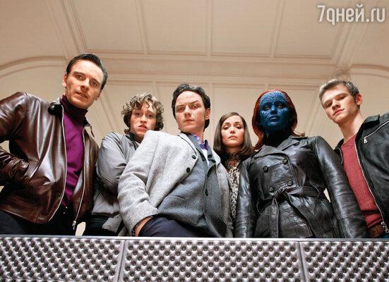 Прошло несколько лет с того момента, как Джен начала сниматься в рекламе и кино, когда ей предложили роль в блокбастере «Люди Икс: Первый класс», 2011 г.