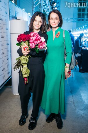 Евгения Крюкова и Ольга Кабо