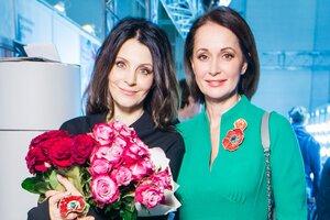 Ольга Кабо поздравила Евгению Крюкову
