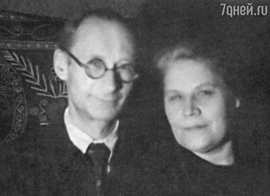 Родители Олега Ефремова Николай Иванович и Анна Дмитриевна. 50-е годы