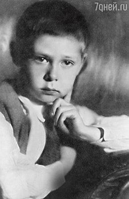 «Олег первый подошел ипредложил: «Хочешь со мной дружить?» Дело было во 2-м классе».1934 г.
