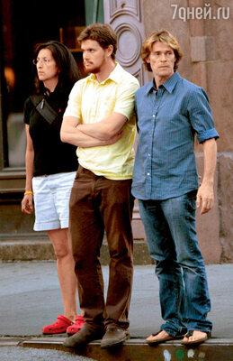 С сыном Джеком на прогулке. Нью-Йорк, 2007 г.