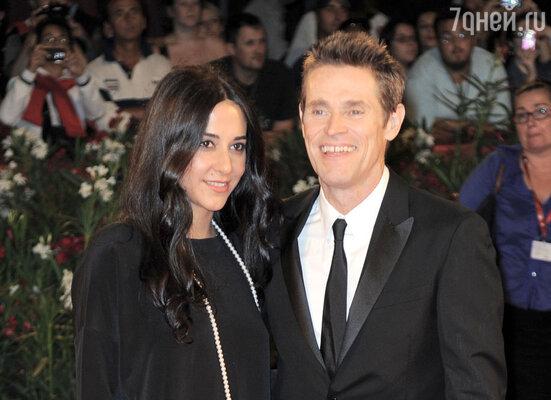 С женой Джадой Колагранде