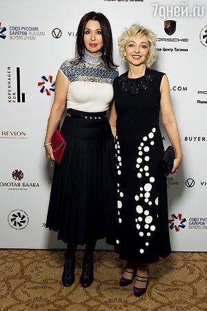 Ирина Лопырева и Елена Бурганова