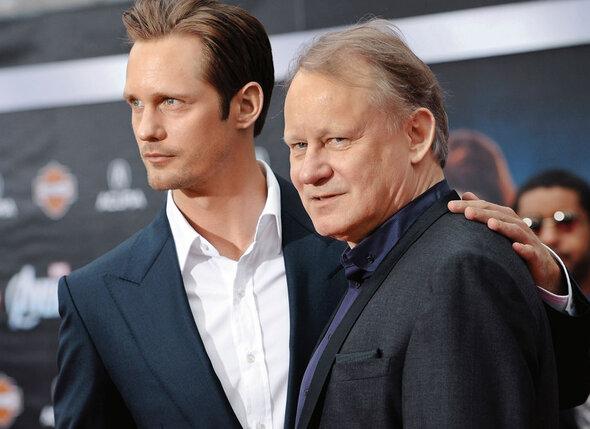 Мать Алекса во всем обвиняла его отца, европейскую кинозвезду Стеллана Скарсгарда — это он развратил невинного мальчишку своим кино, деньгами и ложью!