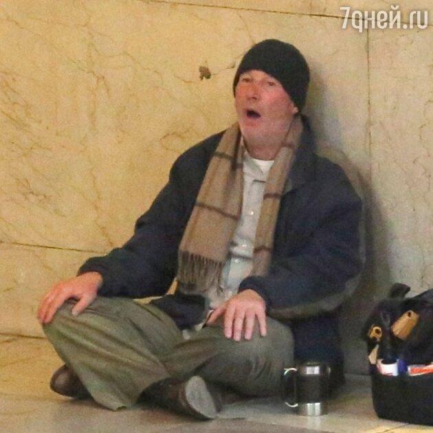 Ричард Гир в роли бездомного