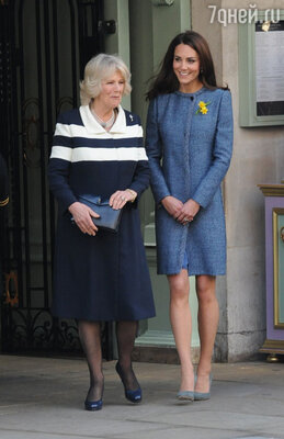 С невесткой Чарльза Кейт, женой принца Уильяма, у нее тоже хорошие отношения