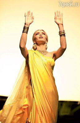 «Окажись я в Индии, то со своими светлыми волосами и глазами выглядела бы, наверное, среди местных женщин альбиносом»